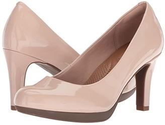 Clarks Adriel Viola (Dusty Pink) High Heels