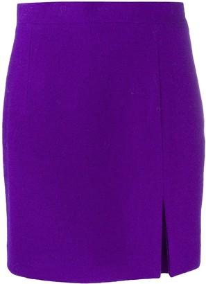 Alessandra Rich High Waist Mini Skirt