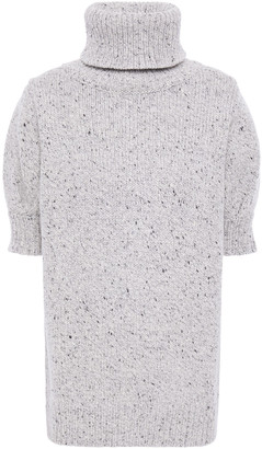 Adam Lippes Wool And Cashmere-blend Turtleneck Top