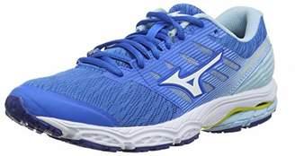 Mizuno Women's Wave PRODIGY 2 Running Shoes, (Brilliant White/Cool Blue 20), 5.5 (38.5 EU)