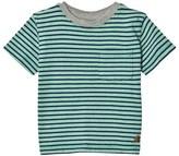 Gap Parrot Green Stripe Short Sleeve Tee