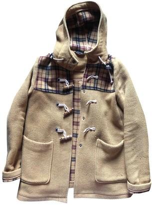 Topshop Tophop Beige Wool Coat for Women