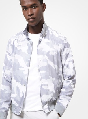 Michael Kors Camouflage Harrington Jacket
