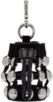 Alexander Wang Black Mini Roxy Pouch Keychain