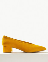 Marks and Spencer Pointed Toe Court Shoes