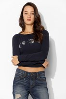 Truly Madly Deeply Moon Phase Cropped Tee
