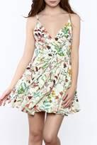 Pink Penguin Floral Spring Dress