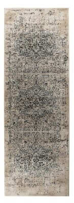 "Bungalow Rose Haubert Cream Area Rug Rug Size: Rectangle 7'4"" x 10'6"""
