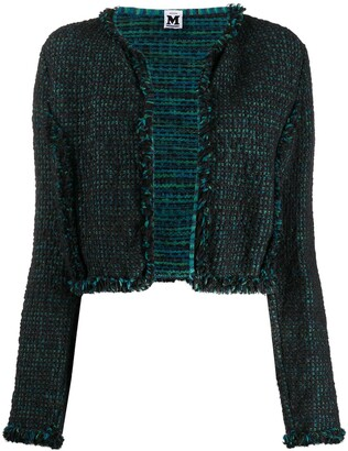 Missoni Pre-Owned 2000s Woven Short Jacket
