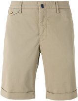 Incotex flap pocket shorts
