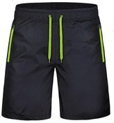 Bonaweite Men Lightweight Athletic Gym Shorts Quick-Dry Beach Shorts 4XL Green