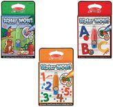Melissa & Doug Animals, Alphabet, and Numbers Water Wow Bundle