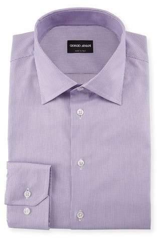 Giorgio Armani Micro-Structure Dress Shirt