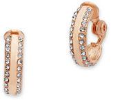 Anne Klein Clip-On Hoop Earrings