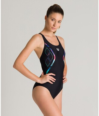 Arena Reflected Symmetry Pool Swimsuit