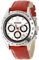 Versus By Versace Women's SGC030012 Cosmopolitan Round Stainless Steel Silver Dial Chronograph Watch