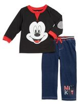 Nannette Baby Boy's Mickey Mouse Top and Jeans Set