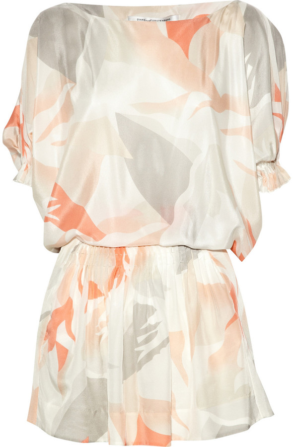 Diane von Furstenberg Handy printed silk dress