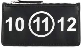 Maison Margiela 11 zip-top clutch