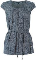 Woolrich floral tie waist blouse - women - Viscose - M