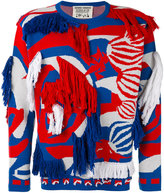 Henrik Vibskov abstract textured jumper