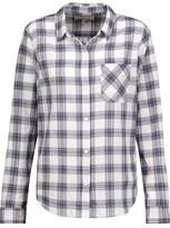 Current/Elliott The Slim Boy Plaid Cotton-Blend Shirt