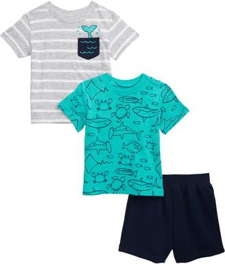Little Me 2-Pack T-Shirts & Shorts Set