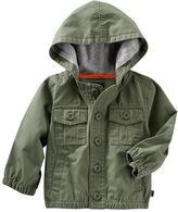 Osh Kosh Baby Boy Hooded Lightweight Jacket