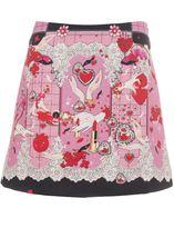 Piccione Piccione Printed Skirt