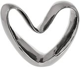Three Hands Corporation 95094 Contemporary Heart Sculpture, Silver