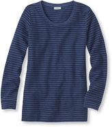 L.L. Bean Women's Easy Mix Knits, Long-Sleeve Tunic Stripe