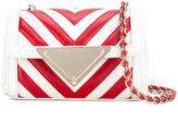 Sara Battaglia Elizabeth mini crossbody bag - women - Calf Leather - One Size
