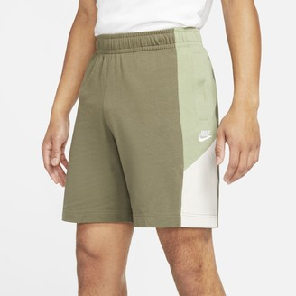 Nike Men's Sportswear Jersey Colorblock Shorts