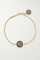 Thumbnail for your product : Dubini Alexander The Great 18-karat Gold And Silver Bracelet - one size
