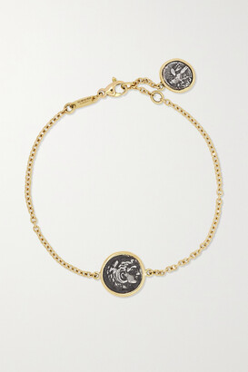 Dubini Alexander The Great 18-karat Gold And Silver Bracelet - one size
