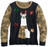 It's Our Time Girls 7-16 & Plus Size High-Low Sequin Ugly Christmas Sweater