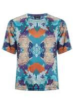 Meng Stretchy Silk Satin T-shirt