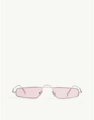 Selfridges Alchemy rectangle sunglasses