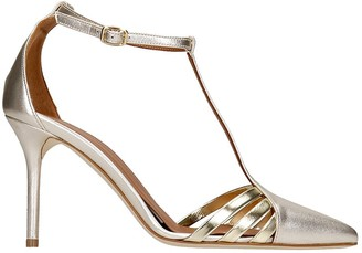 Malone Souliers Ila Sandals In Platinum Leather