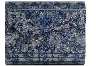 Jimmy Choo Blue Candy Bag