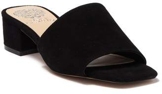 Vince Camuto Jestilian Suede Block Heel Sandal