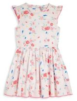 Petit Bateau Toddler's & Little Girl's Ruffle Floral Dress
