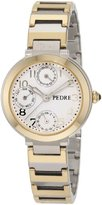 Pedre Women's 5020TX Two-Tone Multi-Function Bracelet Watch