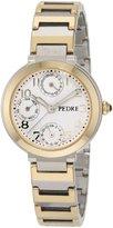Pedre Women's 5020TX Two-Tone Multi-Function Bracelet Watch