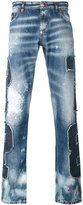 Philipp Plein patch denim jeans