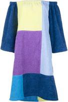 Lisa Marie Fernandez patchwork dress - women - Cotton - S