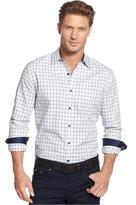 Tasso Elba Men's Long-Sleeve Plaid Shirt, Only at Macy's