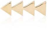 SMITH + MARA 14K Gold Triangle Skimmer Earring