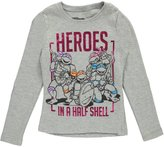 "Teenage Mutant Ninja Turtles Little Girls' ""Half-Shell"" Thermal Top"