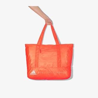 adidas by Stella McCartney Womens Orange Gym Tote Bag